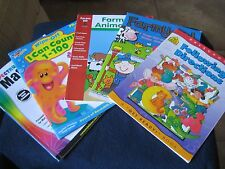 Daily Activity Books Grade Pre-K Different Activities ~ Lot of Five ~