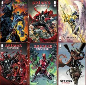Spawn Universe 1 COVER A, B, C, D, E, & F Pre Sale