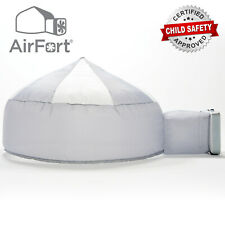 The Original AirFort Build An Air Fort in 30 Seconds Gray Color Inflate a Fort