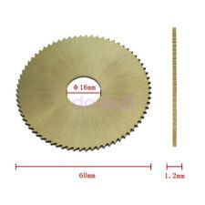 60*16*1.2mm key cutter saw blade for 238BS// 238RS key copy cutting machine