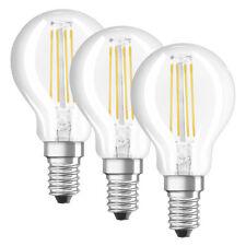 OSRAM LED PROMO 3er Set 4-W-Filament-LED-Tropfenlampe E14, warmweiß, klar