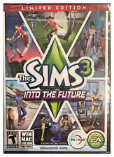 Sims 3 Into the Future Limited Edition Windows Mac Factory Sealed Free US Ship