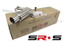 SRS SR*S Axleback EXHAUST FOR Mitsubishi LANCER 08-11 DE ES GTS 2.4L 2.0L
