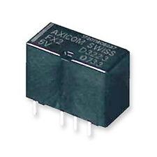 Lot of 2 - Axicom D3223 Relay, Signal, DPDT, 5VDC, 2A, THT