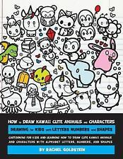 How to Draw Kawaii Cute Animals and Characters : Drawing for Kids with Letter...