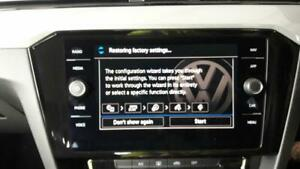 MULTIFUNCTION DISPLAY VOLKSWAGEN PASSAT MK7 (B8) 2014 On Clock Screen & WARRANTY