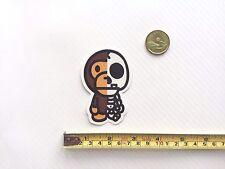 Quality A Bathing Ape Bape Baby Milo Half Skull Vinyl Sticker PVC Decal Luggage