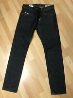NWD Mens Diesel THOMMER HARD Stretch Denim 084KW BLACK Slim W31 L32 H6.5 RRP£170