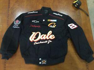 Vintage NASCAR Dale Earnhardt Jr. Kids Youth Medium JACKET NWT JH Designs New WT