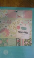 "Grace Taylor Panama Lounge scrapbook papers glitter 12"" x 12"" - ink spot cover"