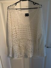 Ladies Knitted / Crochet Top Size 12 - 14