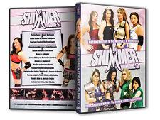 SHIMMER Womens Wrestling 57 DVD, Allison Danger  Cheerleader Melissa CZW ROH