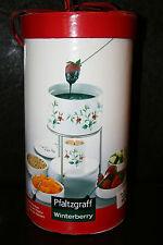 Pfaltzgraff Winterberry Deluxe Dessert FondueSet -  New in Box
