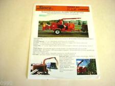 "Salsco 813 13""x18"" Wood Chipper Brochure"