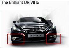 (Fits: Hyundai 2014+ Sonata) LED DRL Daytime Running Positioning Fog Light Lamp