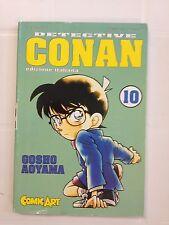 MANGA DETECTIVE CONAN N.10 GOSHO AOYAMA COMIC ART USATO
