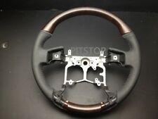 LEXUS GX Toyota PRADO FJ150 FJ-150 2009-2013 wood leather steering wheel