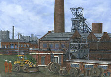 Orgreave Colliery - 1851 - 1981 - Ltd Ed Print - Pit Pics - Coal Mining