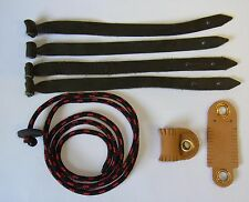 Falconry Aylmeri anklet, jesses and Leash combination set