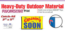 OPENING SOON Banner Sign grand opening new business promotional marketing signs