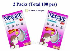 3M Nexcare ACNE CARE Patches / Stickers 2 packs - 100 pcs (0.8cm)
