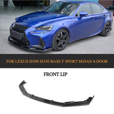 Carbon Front Bumper Lip Spoiler Factory For Lexus IS300 IS350 Base F sport 17-18