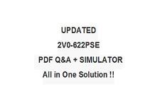 VMWARE CERTIFIED PROFESSIONAL 6.5 DCV 2V0-622PSE Test Exam QA PDF&Simulator