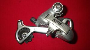 SHIMANO DEORE RD-MT60 REAR DERAILLEUR, USED, SOME SCRATCHES, WORKS VERY GOOD