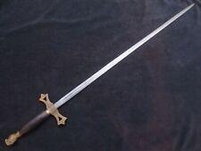 VINTAGE KNIGHTS OF PYTHIAS FCB FRATERNAL CEREMONIAL SWORD