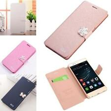Etui coque Rose Case téléphone portable Huawei P7 Ascend
