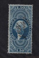 1862 Sc R78c FVF First issue revenue $1.50