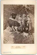 Altes CDV Foto Sommerfrischler, 1883