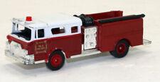 High Speed 1974 Mack Pumper Fire Truck  1/87 HO