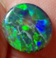 Gorgeous Lightning Ridge Boulder Opal  0.9 cts S7614 Ring Stone
