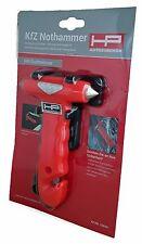 NOTHAMMER MIT GURTMESSER emergency hammer HP Autozubehör 10659
