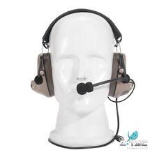 Z TAC Tactical Peltor COMTAC II Type Headphone Noise Reduction Headset Z041-DE
