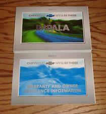 Original 2001 Chevrolet Impala Owners Operators Manual 01 Chevy