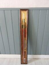 Baromètre selon Torricelli -  mercure - en bois - ( environ 1m )