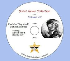 """DVD """"The Man They Could Not Hang"""" (1921) Classic Australian Silent Crime Drama"""