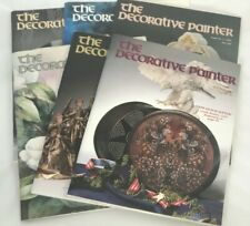 THE DECORATIVE PAINTER 1991 Complete Set (6 Issues)!!! - TOLE Painting Magazines