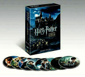Harry Potter: Complete 8-Film Collection (DVD, 2011, 8-Disc Set) New US RG1