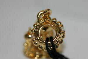 Genuine Ex Display PANDORA Shine Golden AGRABAH CASTLE Dangle Charm 768040CZ ALE