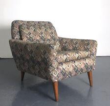 Vintage Mid Century Danish Modern Folke Ohlsson Dux Teak Derby Lounge Chair