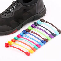1pc Easy No Tie Shoelaces Elastic Flat Lazy Shoe Lace Strings Adult Kids Sneaker