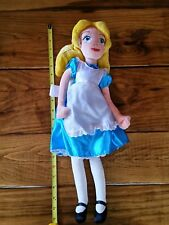 "Disney Store Exclusive Alice In Wonderland 20"" Plush Toy Doll New Retired No Tag"