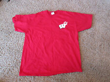 Wisconsin Badgers sports Badgers in Hawaii, Aloha Bucky surfing red shirt, Large