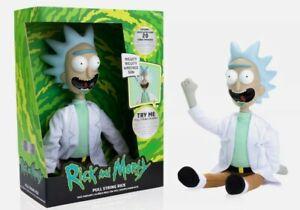 Rick & Morty Pull String Talkie Rick Plush Toy new free p&p