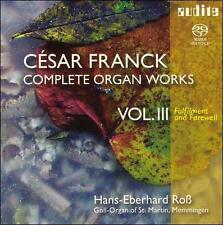 Franck: Complete Organ Works, Vol. 3 [Hybrid SACD], New Music