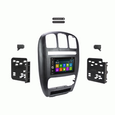 DVD GPS Navigation Multimedia Radio and Dash Kit for Dodge Caravan 2001 - 2007