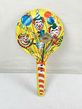 Vintage Metal Clown Noisemaker - Made In Usa